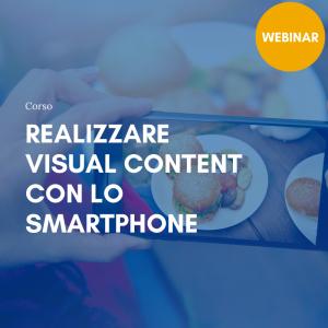 visual content con smartphone krill academy